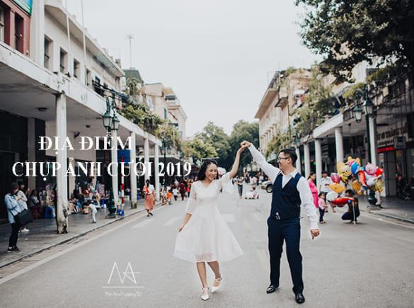 Những địa điểm chụp hình cưới đẹp nhất Hà Nội 2019