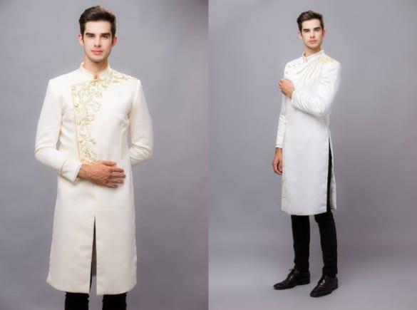 Những mẫu áo dài nam hot nhất 2019 cho chú dể