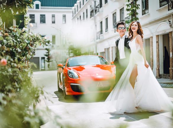Cách lựa chọn trang phục chụp ảnh cưới cho các cặp đôi