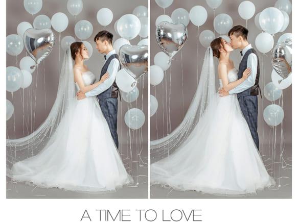 Concept chụp ảnh cưới với bóng bay, đơn giản vẫn đầy chất lãng mạng