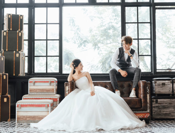 Phong cách chụp ảnh cưới đẹp 2019-2020