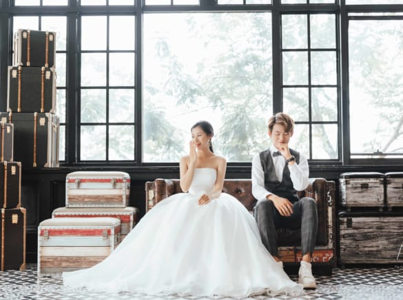 Tổng hợp các mẫu váy cưới đẹp nhất tháng 10