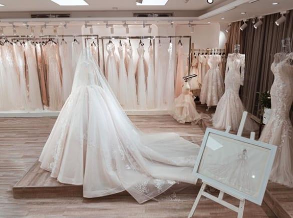 Váy cưới 2 trong 1 cho những ngày chớm thu
