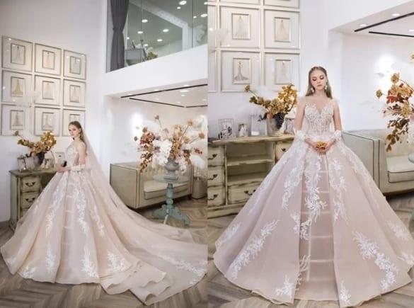 10 váy cưới được yêu thích tháng 9