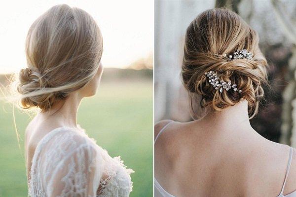 """4 kiểu tóc cưới giúp cô gái """"mặt xương"""" tự tin tỏa sáng"""