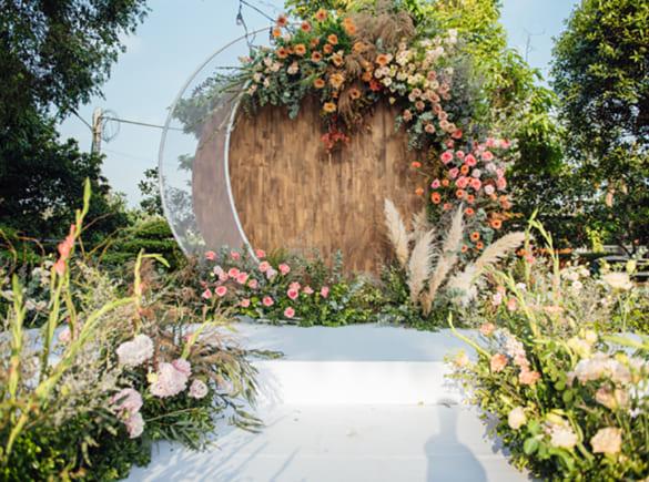 Đám cưới Hà Nội gợi nhắc hôn lễ ở phim 'Chạng vạng'