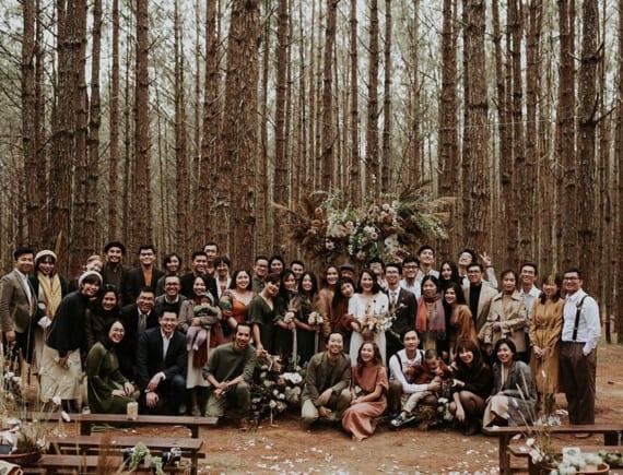 Đám cưới đặc biệt trong rừng thông Đà Lạt