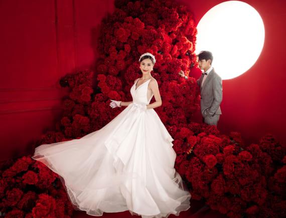 Ảnh cưới phong cách Hàn Quốc tránh dịch Covid-19