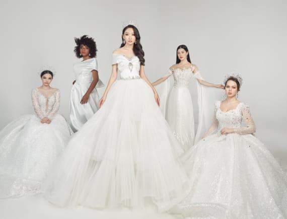 20 cô dâu và bộ váy cưới làm từ ước mơ