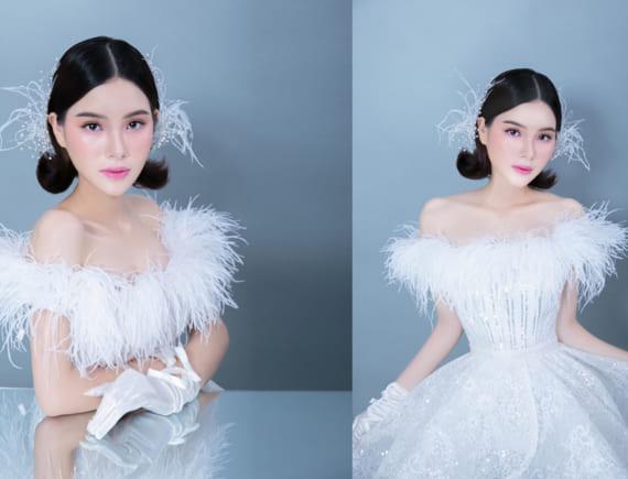 Tông hồng 'kẹo ngọt' cho cô dâu Makeup mùa hè