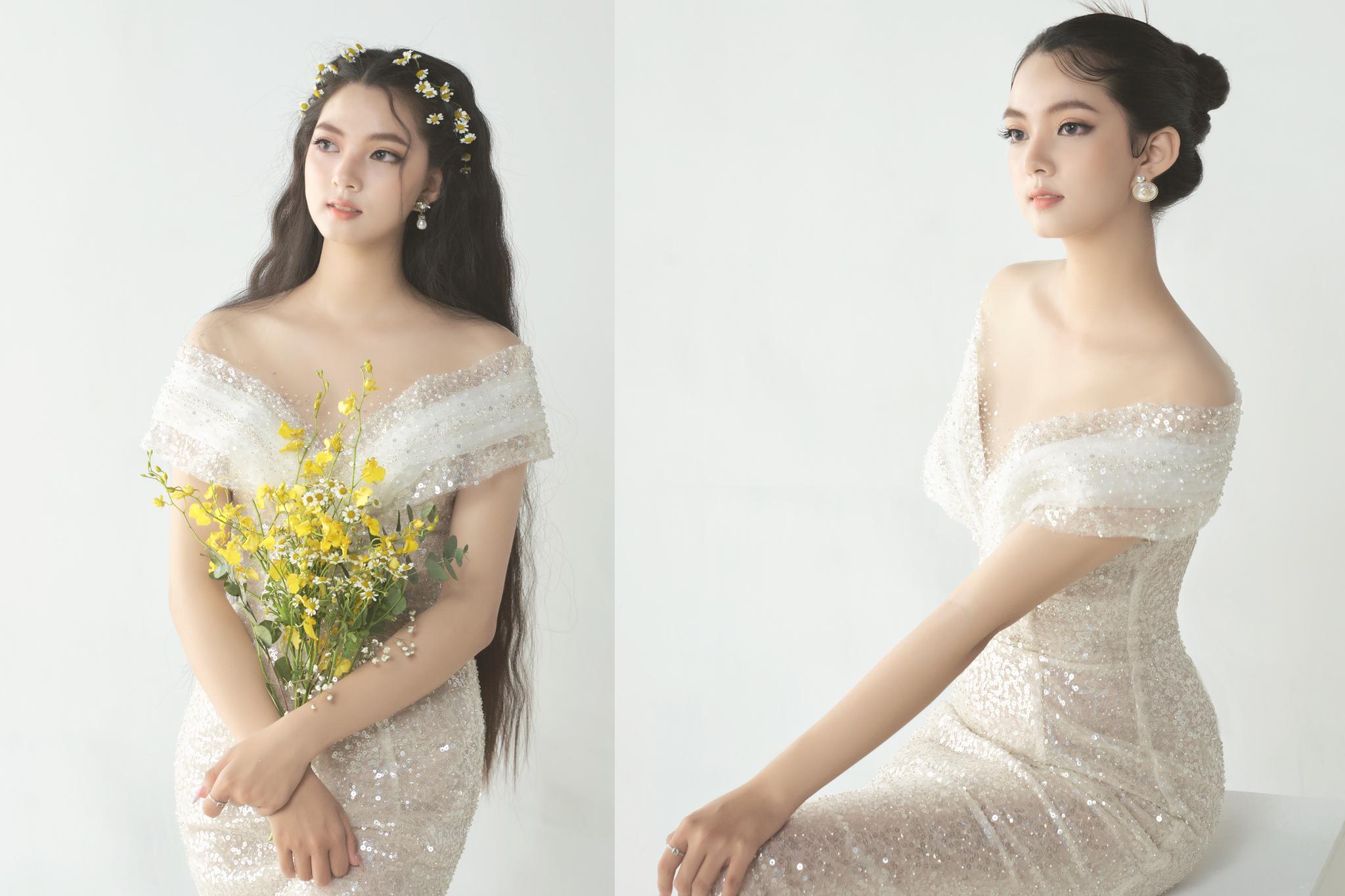 Kiểu tóc trendy cho cô dâu tóc dài