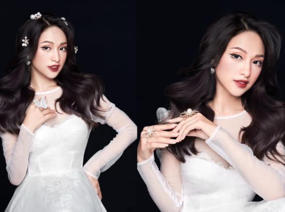 Hot trend makeup cô dâu giống búp bê
